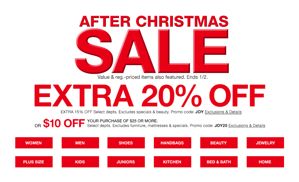 Macy's after christmas sale coupons 2018