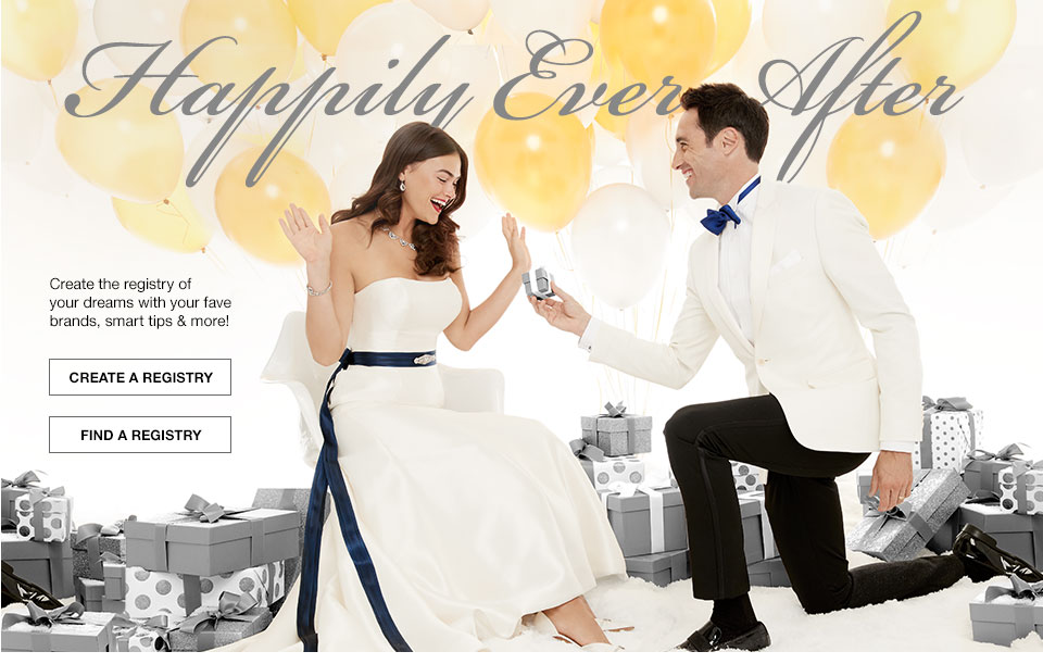 Happily Ever After. Create the registry of your dreams with your fave brands, smart tips and more!