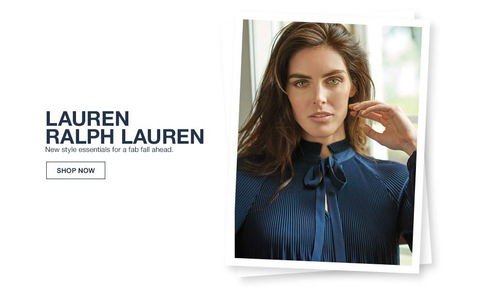 lauren ralph lauren. new style essentials for a fab all ahead.