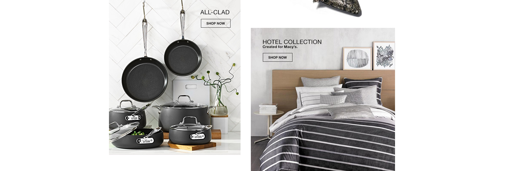 all clad, hotel collection. created for macys.