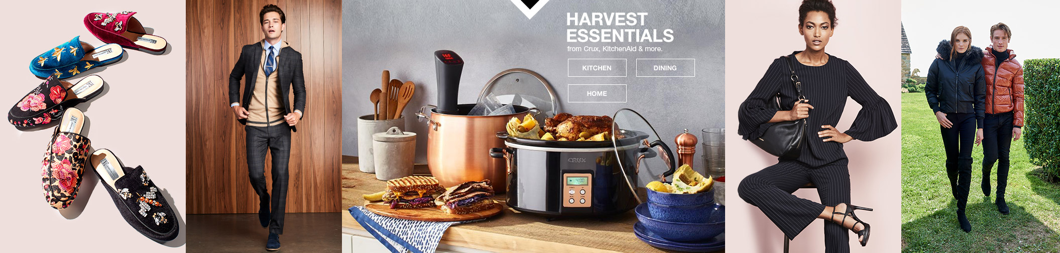 harvest essentials from crux, kitchenAid and more.