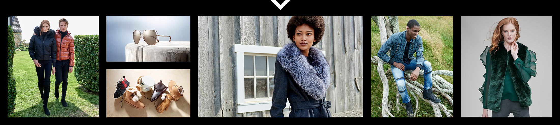 macys presents: the edit, from luxe leather to fabulous fluff-when the chill hits the air, we have got you covered.