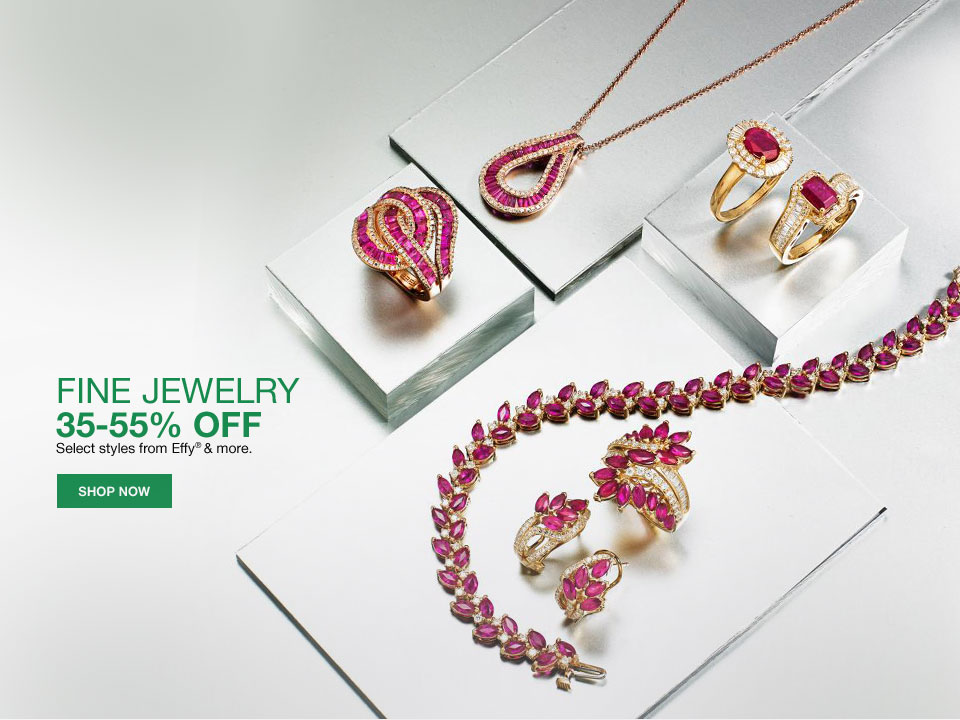 fine jewelry 35-55% off. Select styles from Effy and more.