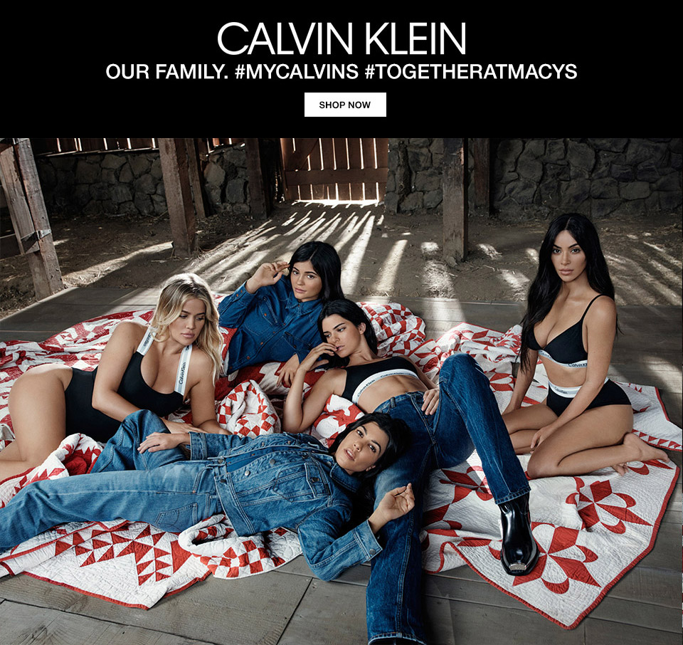 calvin klein. our family. my calvins, togetheratmacys.