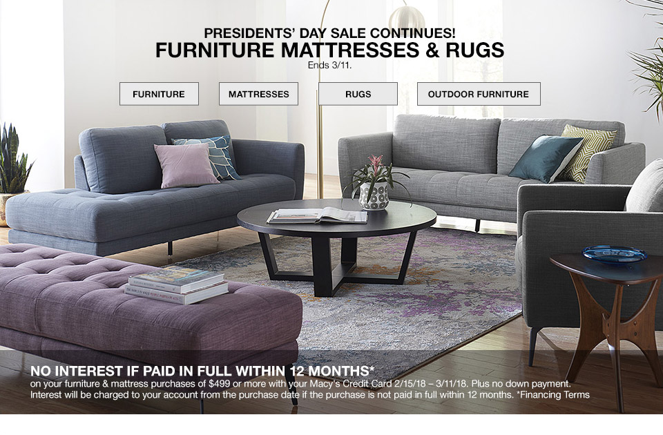 Macy S Furniture Delivery Date