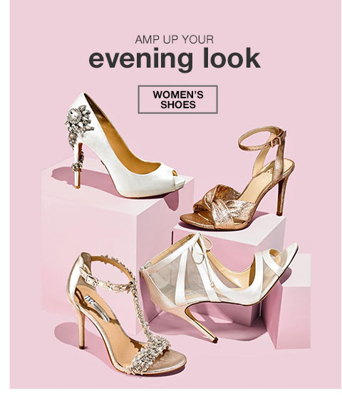 Amp up your evening look. Women's Shoes
