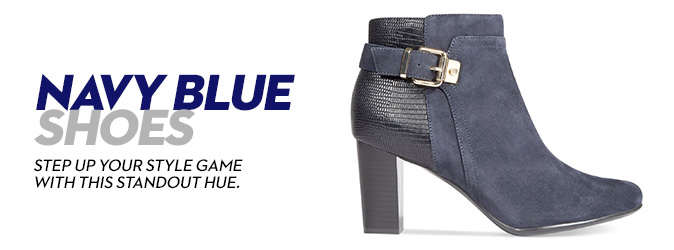 Navy Blue Shoes: Shop for Navy Blue
