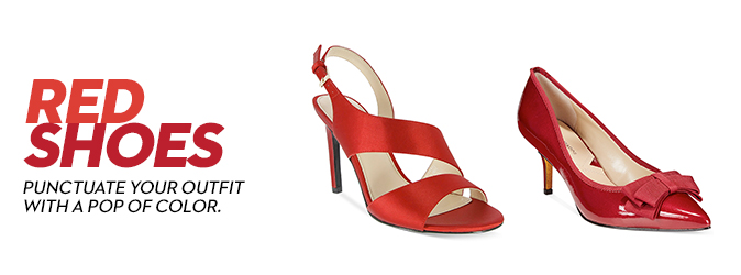 Red Shoes: Buy Red Shoes at Macy's