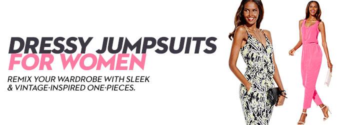 e7c9945afe8 Dressy Jumpsuits for Women  Buy Dressy Jumpsuits for Women at Macy s