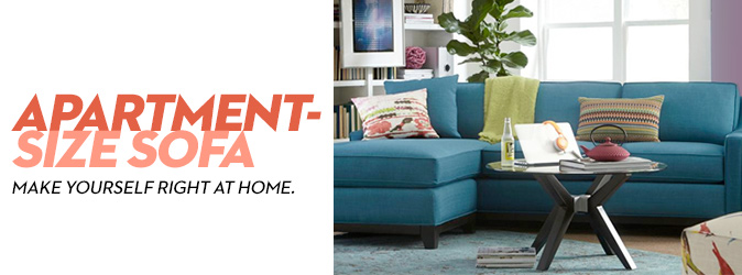 Apartment Size Sofa An
