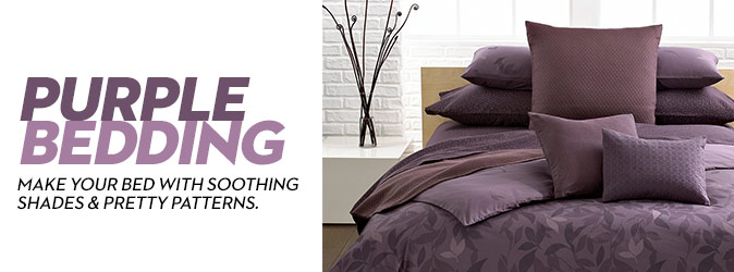 Purple Bedding Look For Purple Bedding At Macy S
