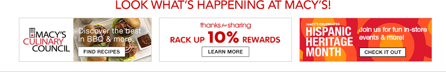 Look What's Happening at Macy's!